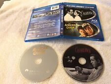 Casablanca + The African Queen Blu Ray Like New Humphrey Bogart