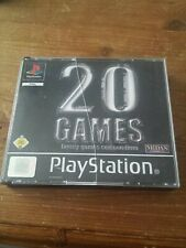 20 Games Family Games Compendium   Playstation Komplett 3 CDs
