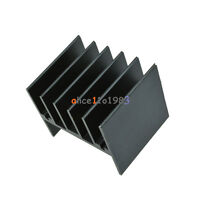 10pcs 25x30.3x25mm IC 25x30x25 Heatsink Black Heat Sink For L298N LM7805