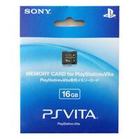 SONY PS VITA Memory Card 16 GB Japan Playstation Psvita PSV 16GB PCH-Z161J
