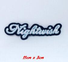 Nightwish metal rock band logo Iron Sew on Patch applique #1357