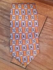 Jos A Bank Mens Geometric Silk Tie Made In The USA