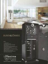 BUBEN & ZORWEG Watch and Jewellery Safe Print Ad 139 0