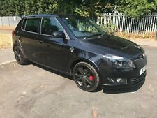 Skoda Fabia TSi Monte Carlo 1 OWNER, 65k VRS easy project repair salvage damaged