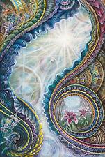 "Randal Roberts and Morgan Mandala ""Portal Series: Electric Forest"" Poster"