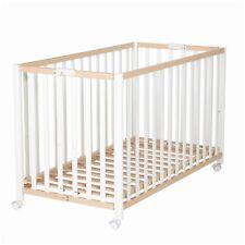 Roba Kinderbett Klappbett Fold Up Buche-Weiß 60x120 cm NEU
