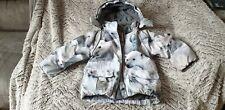 Tamaño de los chicos Diseñador Molo abrigo de invierno a prueba de lluvia de viento de 2-3 años.