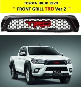 FRONT GRILL TRD VER.2  FOR TOYOTA HILUX REVO 2015 - 2017