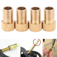 4x Presta to schrader valve adapter converter road bicycle cycle pump T YK