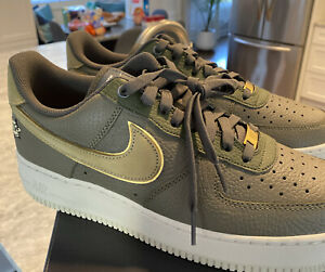 Nike Air Force 1 '07 LX Shoes Turtle Olive Green DA8482 Men's 12 NEW Fast Rare