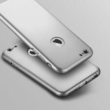 Híbrido 360º DURO Ultrafino Estuche+CRISTAL TEMPLADO Funda para iPhone X 6s 7 8+