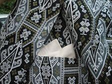 Dapper Men's Two Button Front Jacket - Dormeuil England -  L-XL