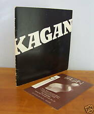 1971 ILLI KAGAN 1st American Exhibit Catalog, Rare
