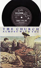 "THE CHURCH - ALMOST WITH YOU Megarare 1982 Aussie only 7"" P/S Single Release!"