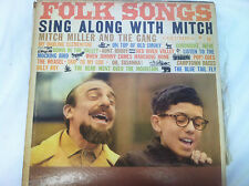 FOLK SONGS sing along with mitch miller and the gang (store#1120)
