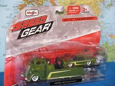 Maisto vitesse Gear 1957 Chevrolet Camion À Plateau / 1969 Corvette Coupe