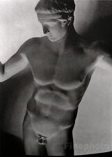 1932/92 Vintage HORST Male Nude Sculpture GREEK STATUE Paris Photo Gravure Art