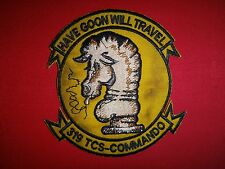 US 319th Troop Carrier Squadron Commando HAVE GOON WILL TRAVEL Vietnam War Patch