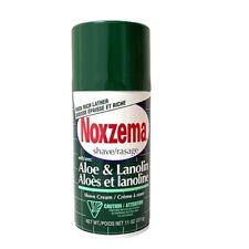 Noxzema Shave Cream Aloe and Lanolin Shaving 11 Oz HTF