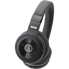 Audio-Technica Solid Bass Wireless Over-Ear Headphones with Built-in Mic/Control