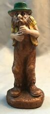 "Vintage Syroco Wood Figure ""Pete"" The Flute Player"