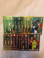 PANINI ADRENALYN XL EURO 2020 FULL SET OF ALL 18 MULTIPLE CARDS MINT