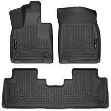 Husky Liners WeatherBeater Floor Mats - 3pc - 99651 - Lexus RX350/RX450h - Black