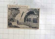 1960 Workers Enlarging Pirates Changing Rooms Mennaye Fields, Penzance