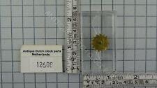 THIRTH GEAR FROM TRAIN TO POWER VERGE GRAVITY CLOCK ANNO 1750 WARMINK