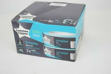 Tommee Tippee Simplee Diaper Pail Refill Cartridge - 2 count
