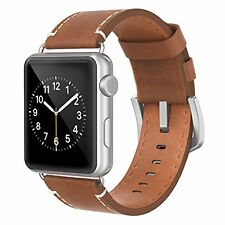 Apple Watch Band 42mm Leather, Swees iWatch Genuine Leather Bands Strap R...