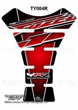 Yamaha Fazer 600 1000 FZS Red Motorcycle Tank Pad Motografix 3D Gel Protector