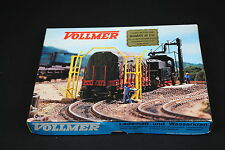 W268 VOLLMER Train Ho Maquette 5705 Gabarit de chargement + grue hydraulique