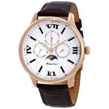 Mathey-Tissot Edmond Moon Phase White Dial Men's Watch H1886RPI