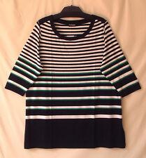 Samoon Shirt by Gerry Weber 3/4Arm Rundhals Longstyle Neu Stretch Damen Gr.52