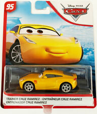 Mattel Disney Pixar Cars Diecast Car Trainer Cruz Ramirez 1 55 Scale