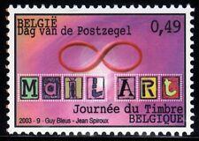 SELLOS BELGICA 2003 3165 DIA DEL SELLO 1v.