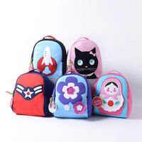 Dabbawalla Kids Girls Boys Original 100%recycle BPA free Backpack +free tote bag