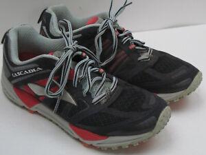 Brooks Cascadia Women's Size 9 Black & Gray Athletic Running Shoes 6477