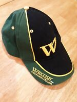 Warrior Custom Golf Com Hat Cap Baseball Golf Black Green Gold W