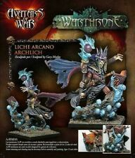 Avatars of War Warthrone Archlich Fantasy NIB 28mm A98 unpainted