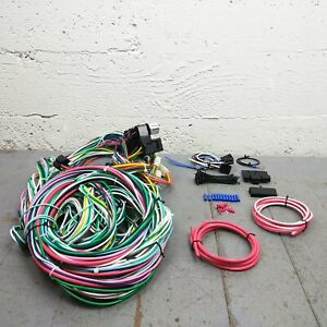 1959 - 1974 Ford Galaxie Wire Harness Upgrade Kit fits painless fuse block fuse