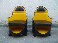 Paire de fauteuils dans ancien bidon d'huile Modèle Unique
