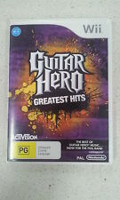 guitar hero greatest hits wii