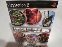 Konami Preview Demo Disc Playstation 2 PS2 Brand New Factory Sealed Gradius V
