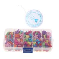 280Pcs Beads Kits Set for Kids Jewelry Making Craft DIY Necklace Bracelets