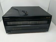 PIONEER PD-F1004 100 CD Disc Player Changer Only No Remote Tested Working Works