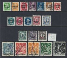 1920 GERMANY - BAVARIA OVP. USED DEFINITIVE ISSUE SC# 256-669,270A - 275