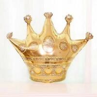 Gold Crown Beer Foil Balloon Wedding Baby Birthday Party Decor Props Supplies