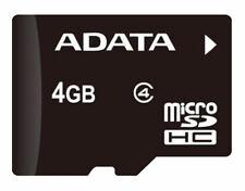 10 Pcs 4GB Class 4 SDHC Micro SD Memory Card  C4 TF ADATA For GPS Phone